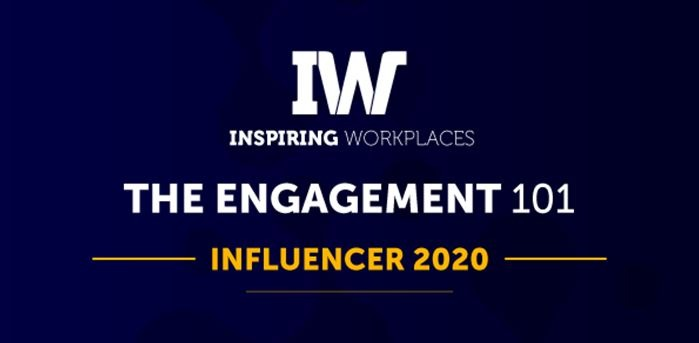 Inspiring Workplaces announces its complete 2020 #Engagement101 list