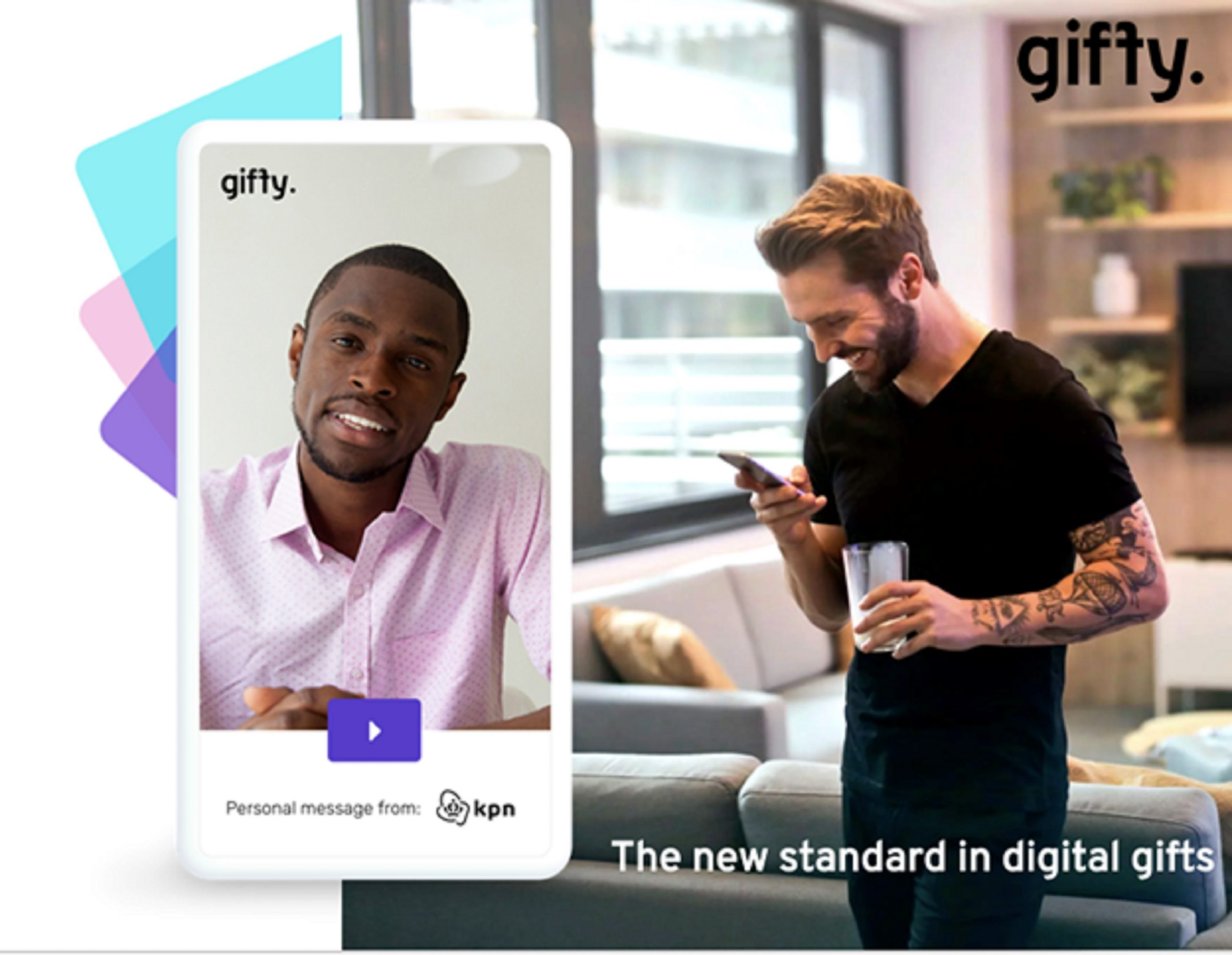 Giffy showcase their modern gift experience that is Personal, Digital and Durable