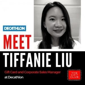 Week Six – Gift Card Q&A With Tiffanie Liu – Decathlon