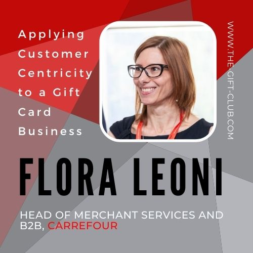 Customer Centricity & Gift Cards by Flora Leoni