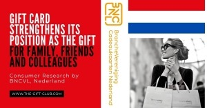 Gift Card Strengthens its Position as the Gift for Family, Friends and Colleagues