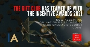 The Incentive Awards in Partnership with The Gift Club – Special Discount offer for Nominations