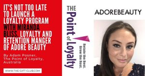 It's not too late to Launch a Loyalty Program by Adam Posnor, Australia
