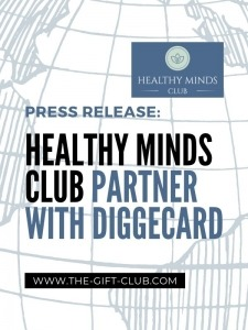 Press Releases: Healthy Minds Club Partner with Diggecard